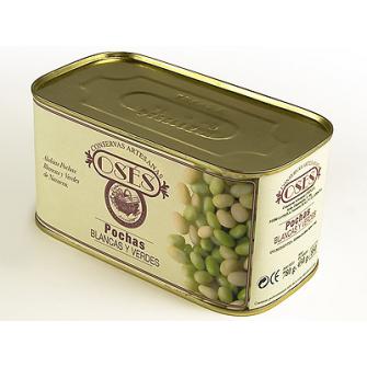 """""""oses"""" pochas blancas y verdes de navarra 780 gr"""