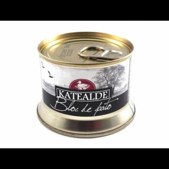 Bloc de foie gras de pato 130 gr
